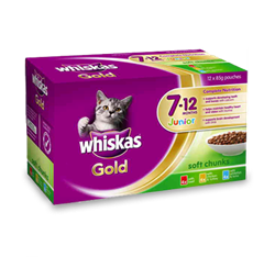 <p>WHISKAS<sup>®</sup> Gold Junior <br />7-12 Months</p>