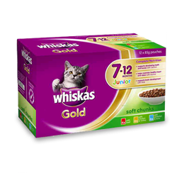 WHISKAS® Gold Junior 7-12 Months