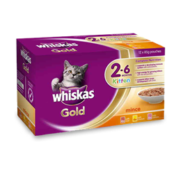 WHISKAS® Gold Kitten 2-6 Months