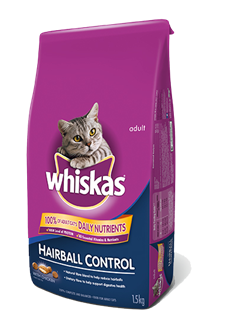 WHISKAS® Hairball Control